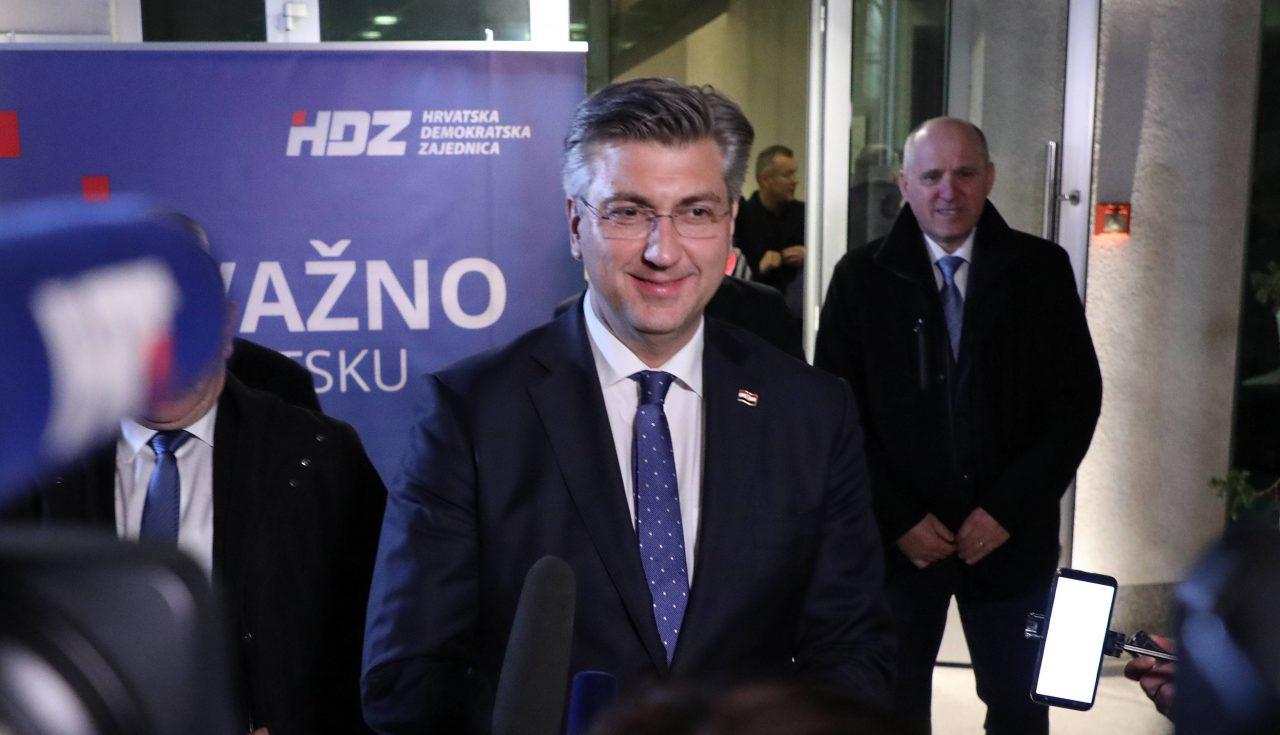 PLENKOVIC PONOVO IZABRAN ZA PREDSEDNIKA HDZ