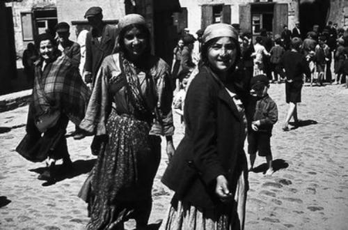 Lublin_Ghetto_Roma_women