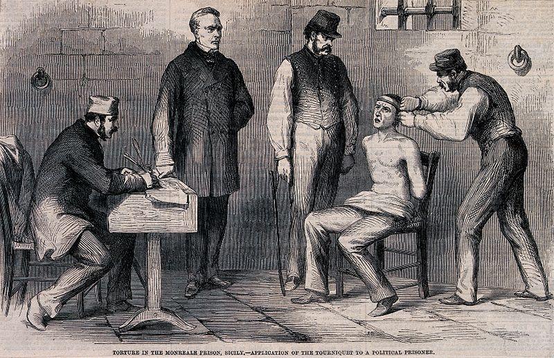 Torture_in_a_Sicilian_prison_in_Monreale_the_prisoner_has_a_Wellcome_V0041751.jpg