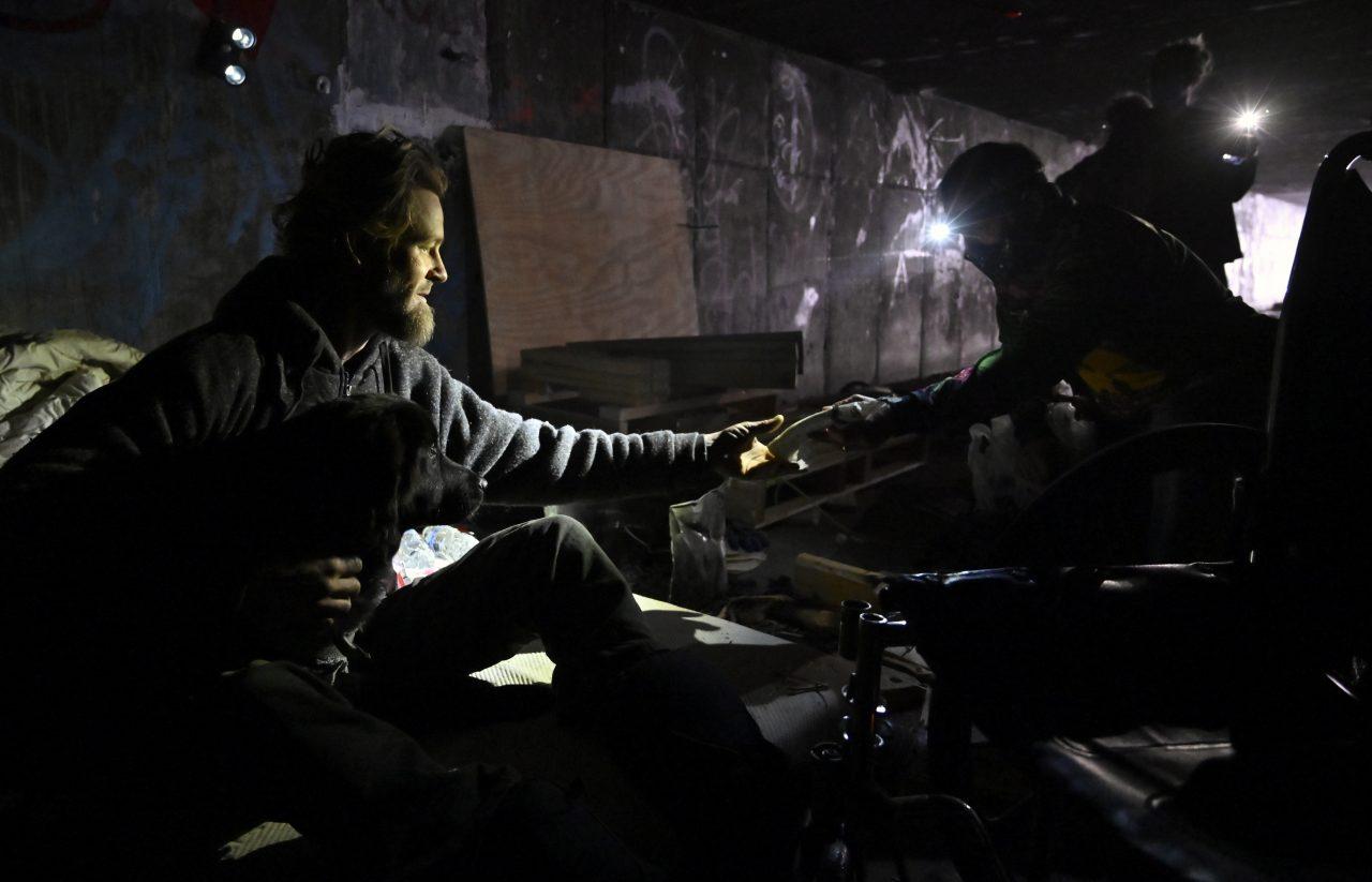 Virus Outbreak Vegas Homeless