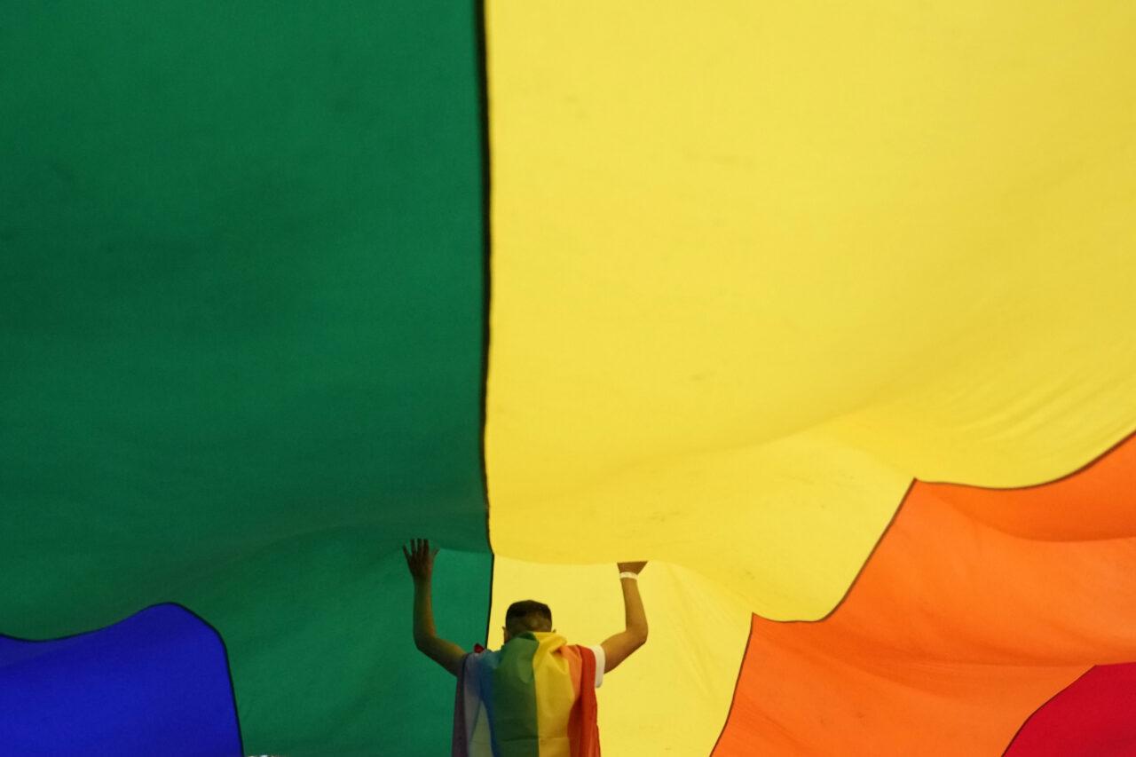 APTOPIX Serbia LGBT March