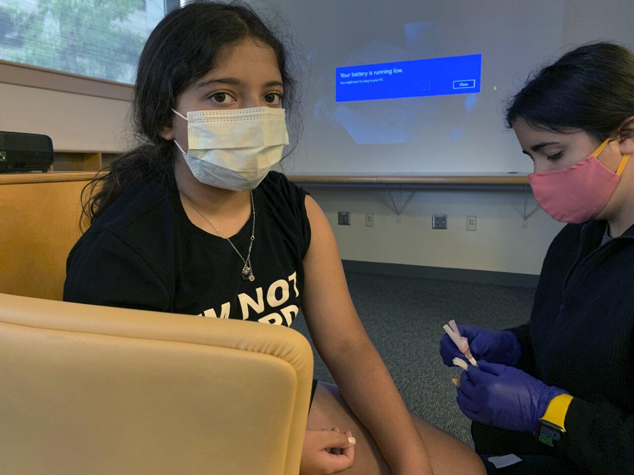 Virus Outbreak Pfizer Vaccine Kids