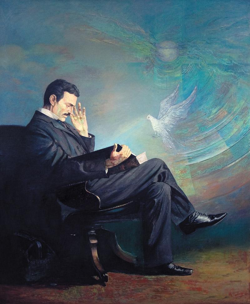 Ljubomir_Simonović_-_Nikola_Tesla_2